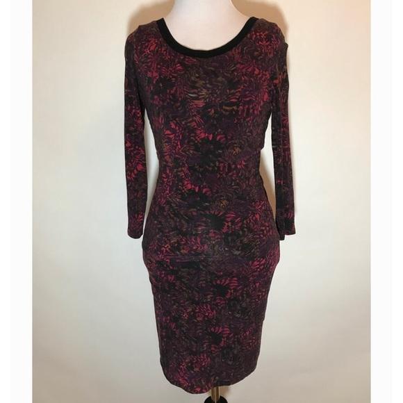 Cluny print dress